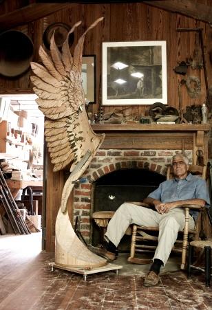 mckoy in his workshop