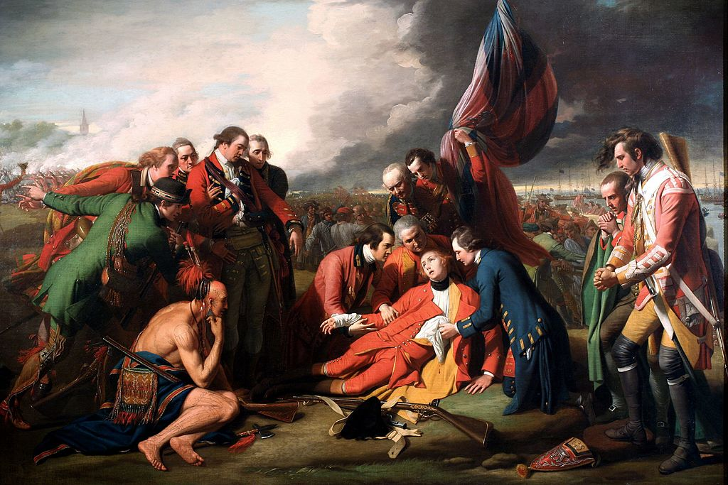 Battlecast The Death of General Wolfe by Benjamin West