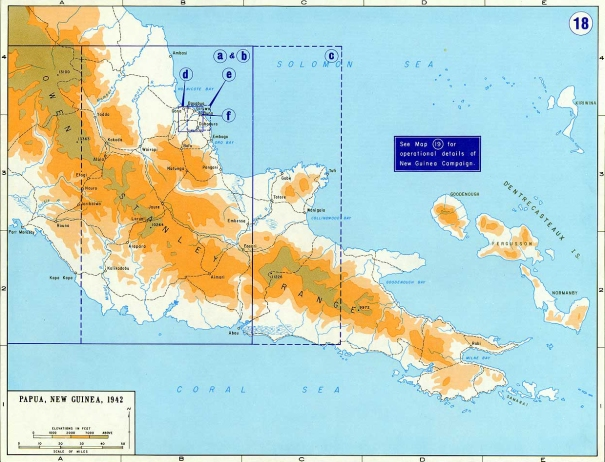 papua_new_guinea_map of the region