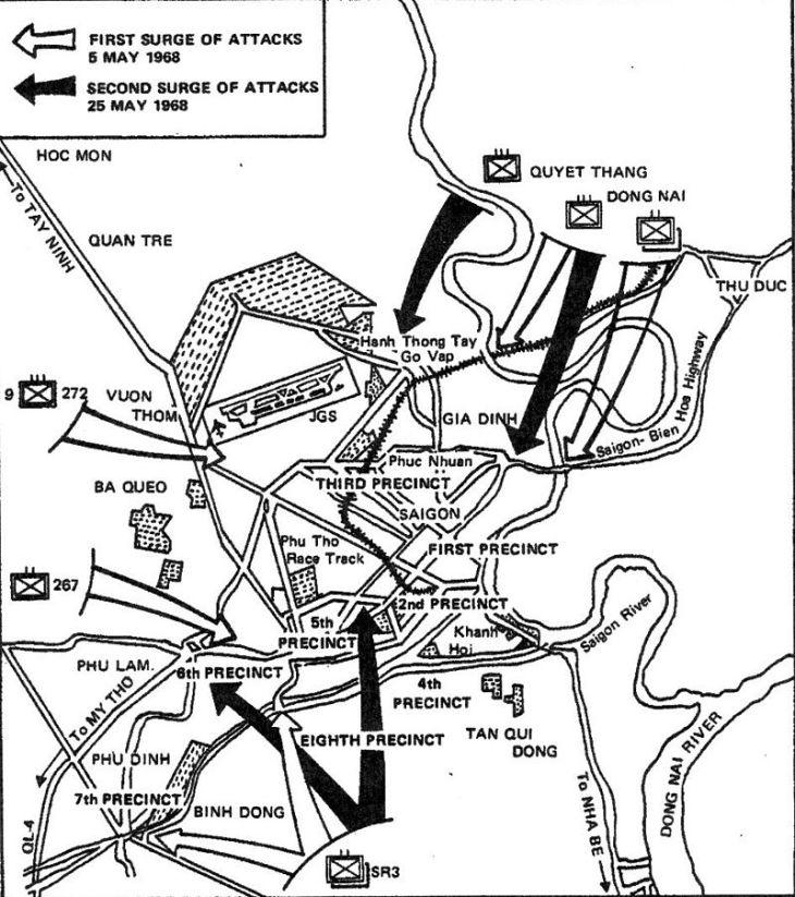 Attacks on Saigon, Phase II, May 1968