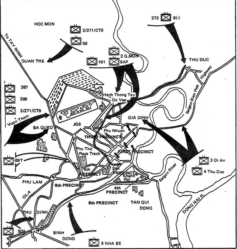 Attacks on Saigon