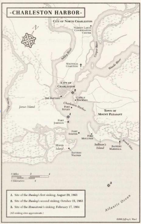 civil war Charleston Harbor