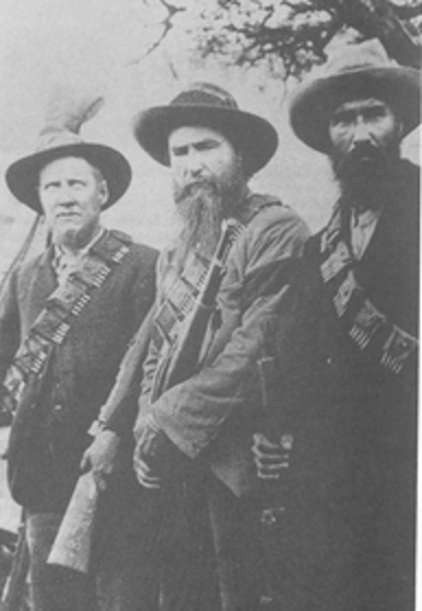 Boer War Boer Soldiers