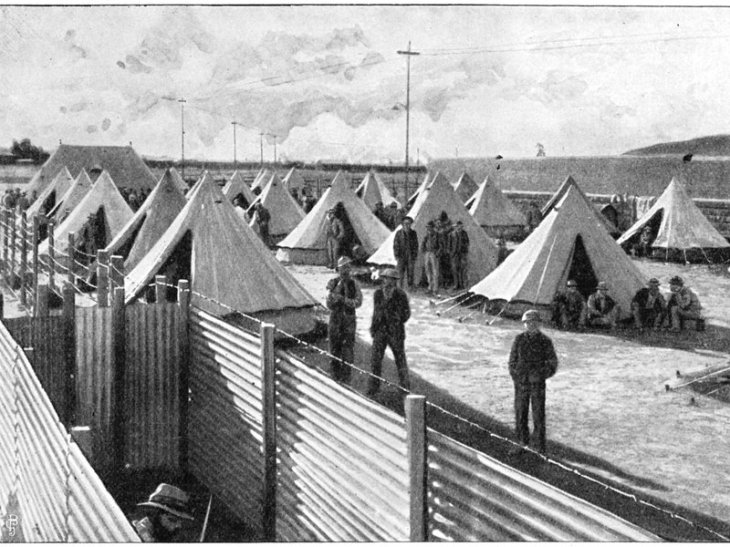 Boer War Concentration Camp