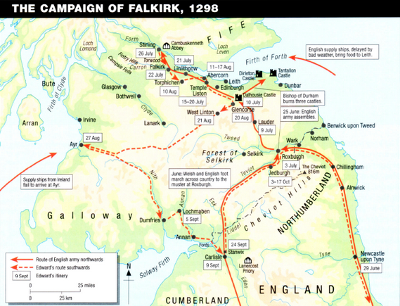 Campaign of Falkirk 1298